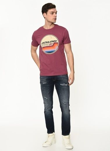 Jack & Jones Tişört Bordo